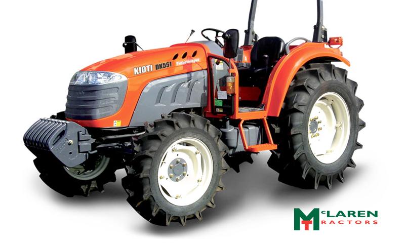 Kiota tractors