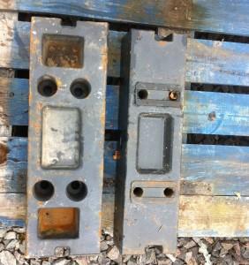 Kioti front weight frame block