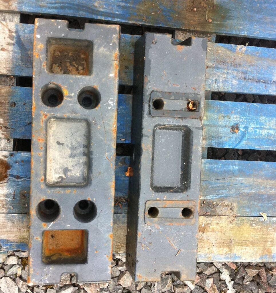 Kioti front weight frame blocks