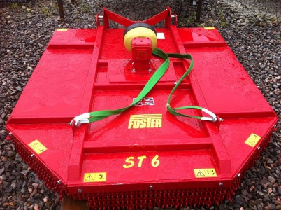 Foster ST6 rough ground slasher topper for sale