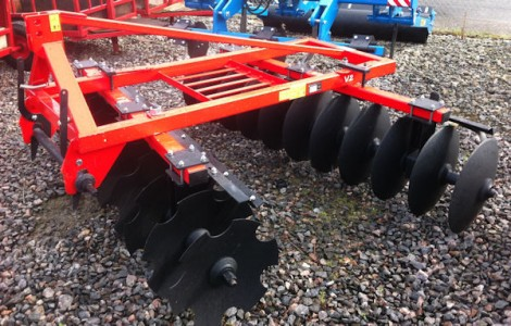 MTL 2.4m Mounted Disc Harrows for sale