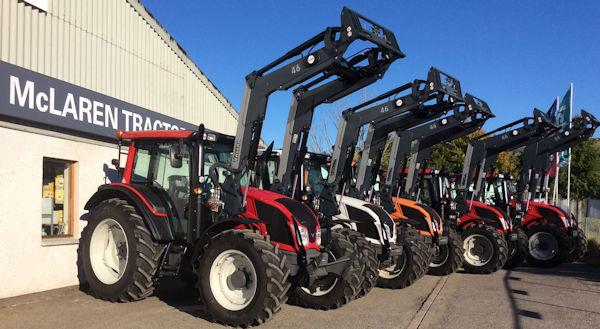 October 15 tractors