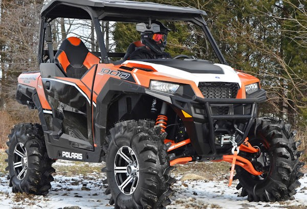 Polaris Side By Side Atv >> Polaris Launch The New General High Performance Utility Side By Side