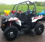Polaris ACE white lightening ATV for sale 1