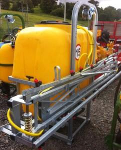 MTL 800 litre 12m sprayer for sale