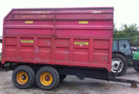 Marshall 10 tonne silage trailer for sale 1