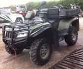 Arctic Cat Diesel ATV for sale 1