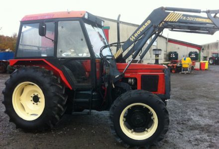 Zetor 4340 60hp 4wd tractor for sale – SOLD