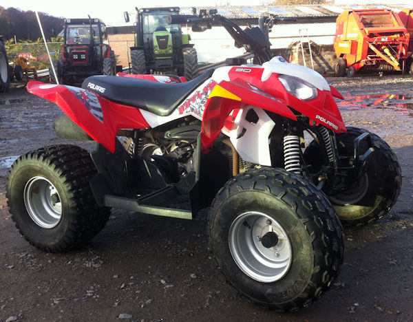 polaris-outlaw-90-kids-quad-for-sale-1 - McLaren Tractors