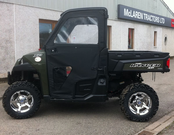 Polaris Ranger XP900EPS with full cab & heater for sale1