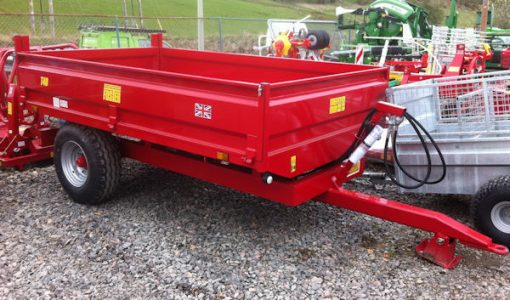Foster T40 4 tonne steel bodied tipping trailer for sale – SOLD