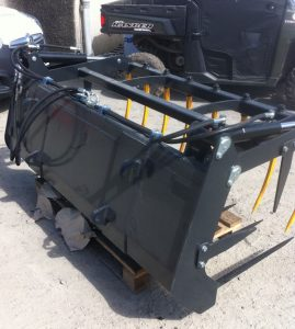 MTL 1.8m 6ft muck fork with top grab for sale