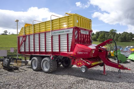 Pottinger Faro 5010L silage wagon for sale