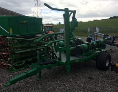 McHale 991BJS trailed bale wrapper for sale