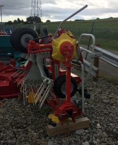 Pottinger HIT4.54 4 rotor tedder for sale