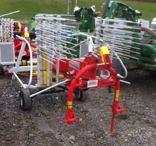 Pottinger TOP342 3.4m rake for sale