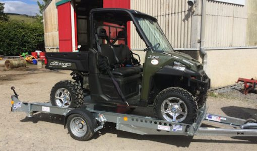 Polaris Ranger ORV ATV Transporter Trailer for sale