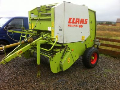 Claas Rollant 46 round baler for sale