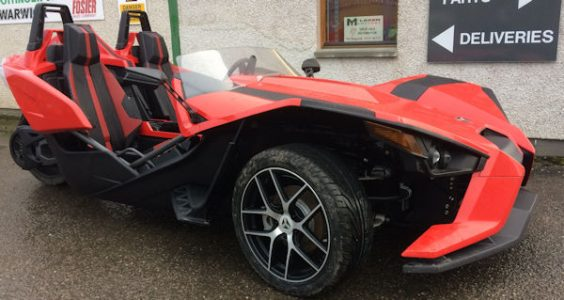 Polaris Slingshot 3 wheeled Roadster motorbike for sale
