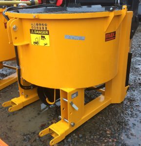 Pan Mixer 600 litres PTO driven for sale