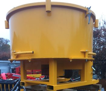 Pan Mixer 800 litres Hydraulically driven for sale
