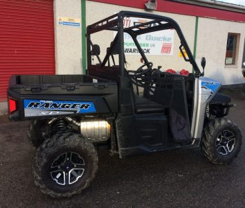 Polaris Ranger XP900 Silver Fox 4×4 ATV for sale