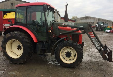 Zetor 75hp 4wd tractor with loader for sale