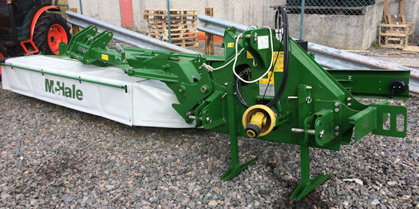 McHale R3100 3m mounted mower conditioner for sale