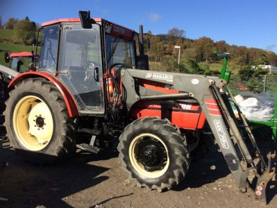 Zetor 9540 99hp 4wd tractor for sale – SOLD