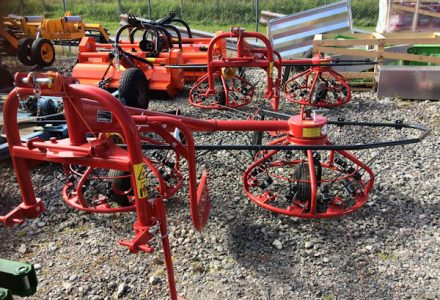 Mesko Rol Z275 haybob 300 hay maker for sale