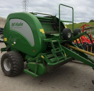 McHale F5500 fixed chamber chopper baler for sale – SOLD