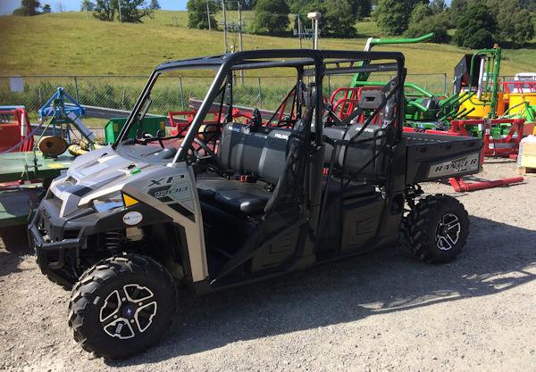 Polaris Ranger Xp1000 Crew Orv Atv 6 Seat For Sale
