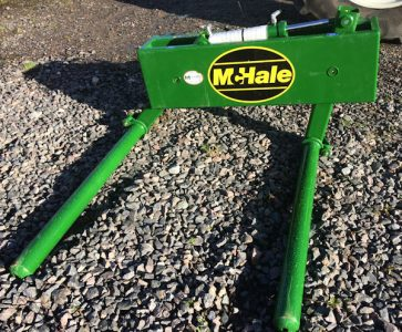 McHale 691 silage bale handler euro for sale – SOLD