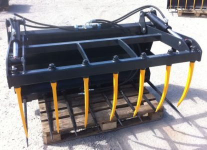 MTL 1.4m 4ft6in muck fork with top grab for sale