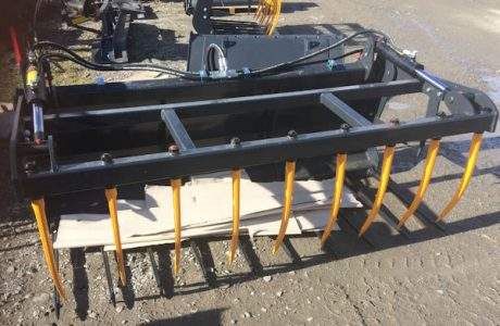 MTL 2m 7ft muck fork with top grab for sale