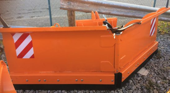 MTL 3m adjustable Vee Blade Snow Plow for sale -SOLD