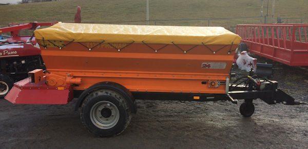 Pronar T130 trailed lime salt sand spreader for sale