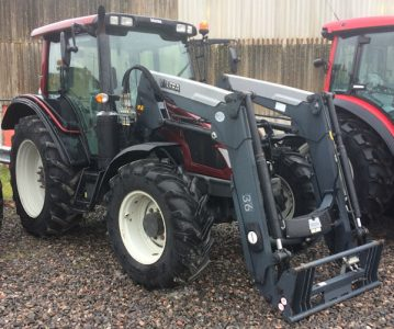 Valtra N103 Hitech 5 110hp tractor for sale – SOLD