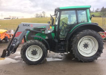 Valtra N111eH 133hp tractor for sale with loader