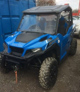 Polaris General 1000 EPS 100hp ORV 2017 road registered for sale