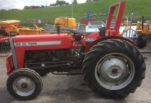 TAFE 35DI 40hp 2wd tractor for sale (MF240) - McLaren Tractors