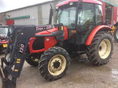 Zetor Proxima 6441 70hp 4wd tractor with loader for sale