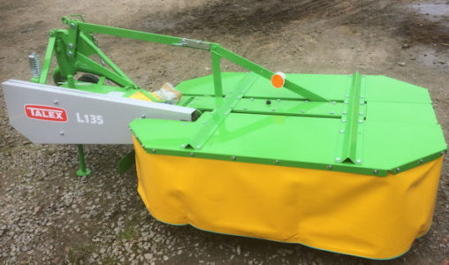 MTL KM21 1.35m 2 drum mower for sale