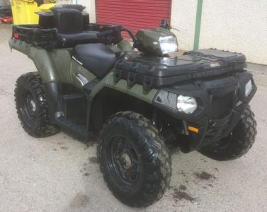 Polaris Sportsman 550 X2 4×4 2 seat ATV for sale