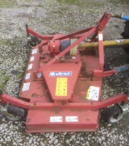 Sitrex SM180 Finishing mower 6ft grass topper for sale