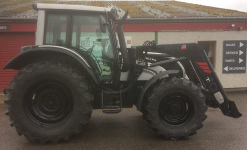 Valtra N121H 40km/h tractor Black Edition with loader for sale – SOLD
