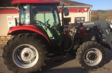 Case Farmall 85a 4wd tractor with loader for sale