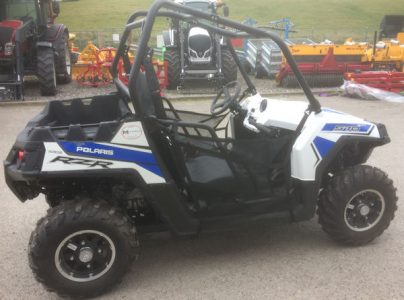 Polaris RZR 570 45hp 4wd white lightning sports ATV ORV for sale