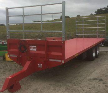 Portequip 28ft bale pallet trailer for sale
