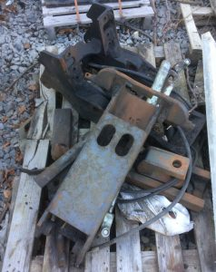 Valtra hydraulic push back pick up hitch for sale